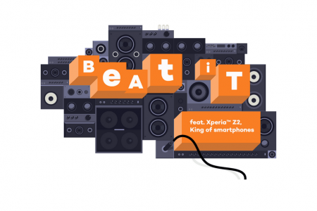 Xperia Z2 - Beat it (FR) Infographic