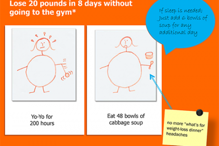 Yo Yo Diet In Three Easy Steps Infographic