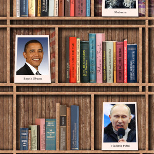 You Are What You Read: Bookshelves of Famous Peopl…