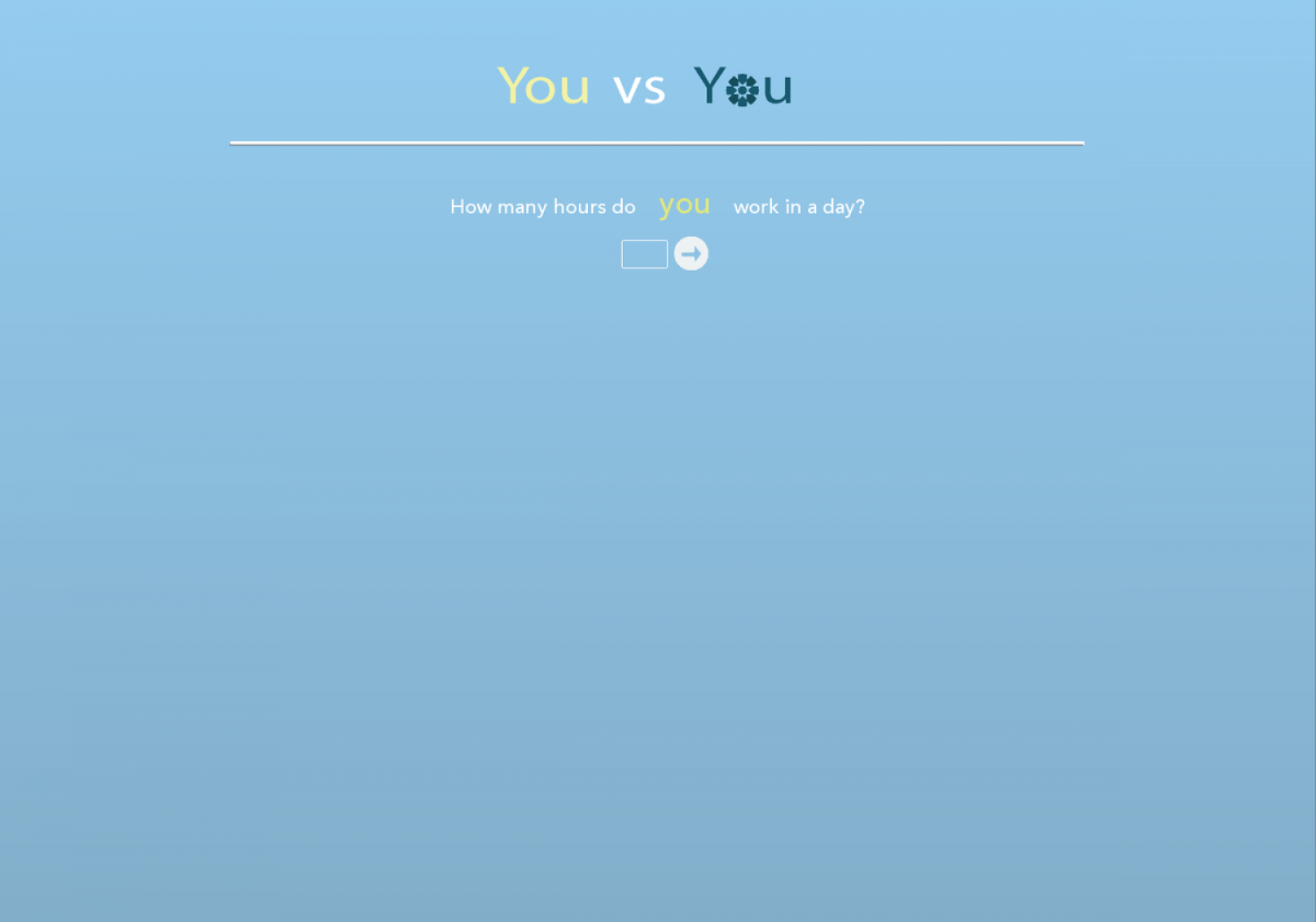You vs you Infographic