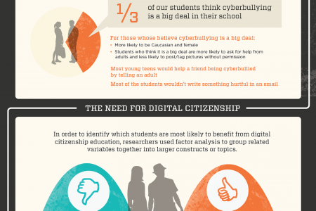 Young Teens and the Digital World Infographic