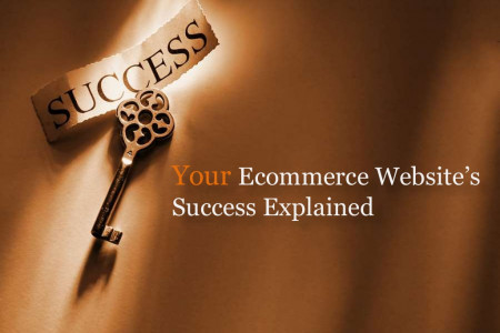 Your Ecommerce Website's Success Explained Infographic