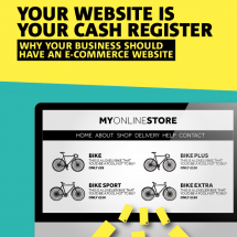 Your Website is Your Cash Register Infographic