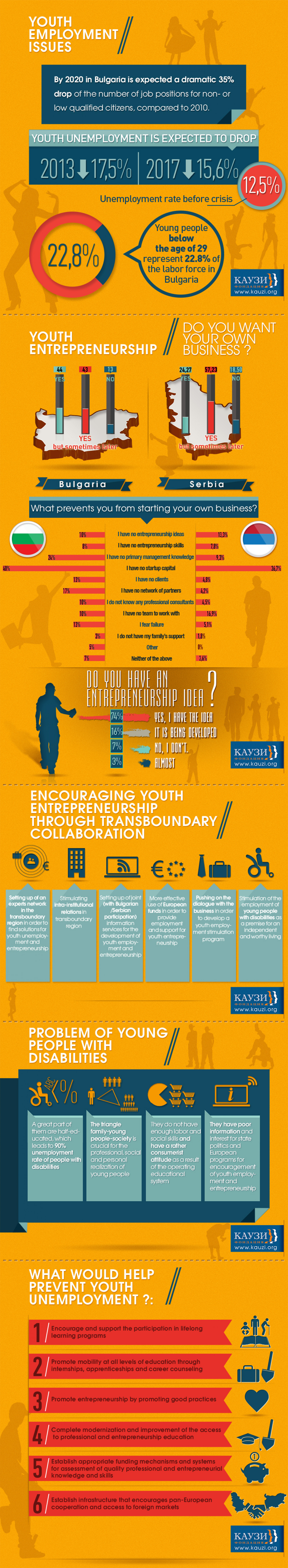 Youth Employement Issues Infographic